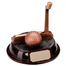 The Troon Series Golf Putter Trophy